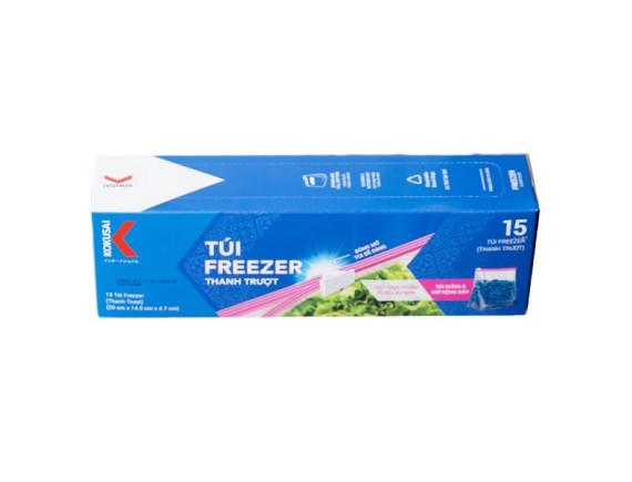 Túi Zipper Kokusai Freezer 15 Túi*20*14.9*4.7Cm