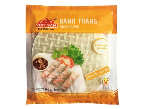 Bánh Tráng CLC Việt San 16Cm Gói 160G