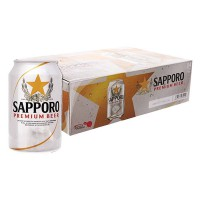 Bia Sapporo Thùng 24 Lon 330Ml