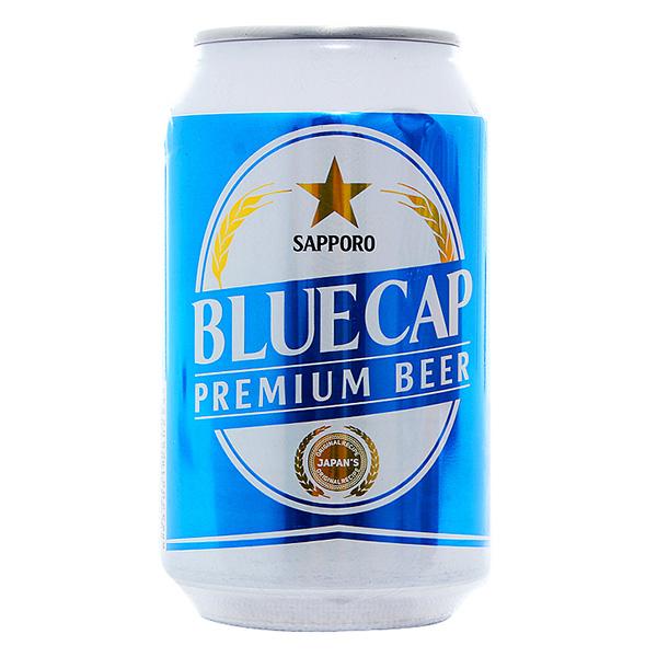 Bia Sapporo Blue Cap 330Ml