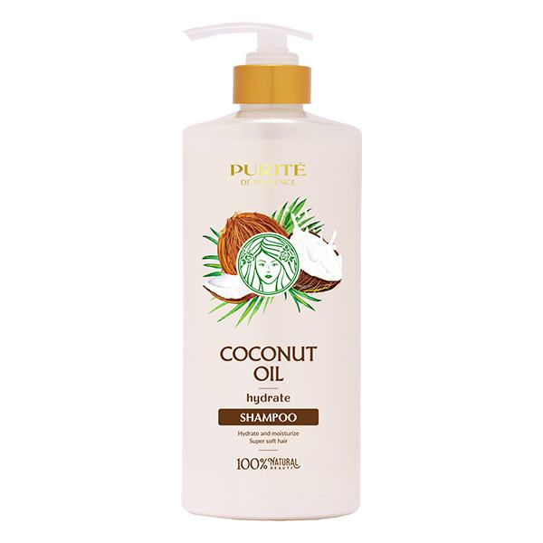 Dầu Gội Purite Coconut Oil 650Ml