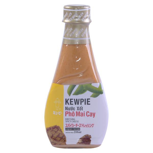 Sốt Phô Mai Cay Kewpie 210ML