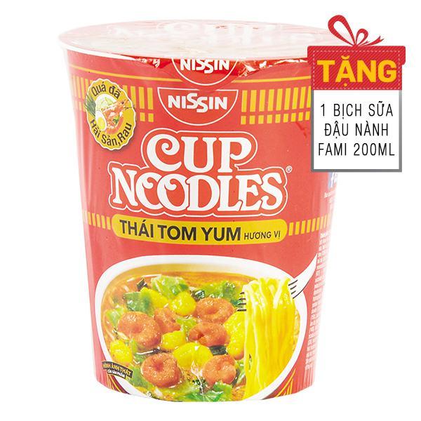Mì Ly Nissin Vị Thái Tôm Yum 70G