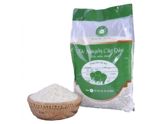 Gạo Tài Nguyên Chợ Đào 5Kg