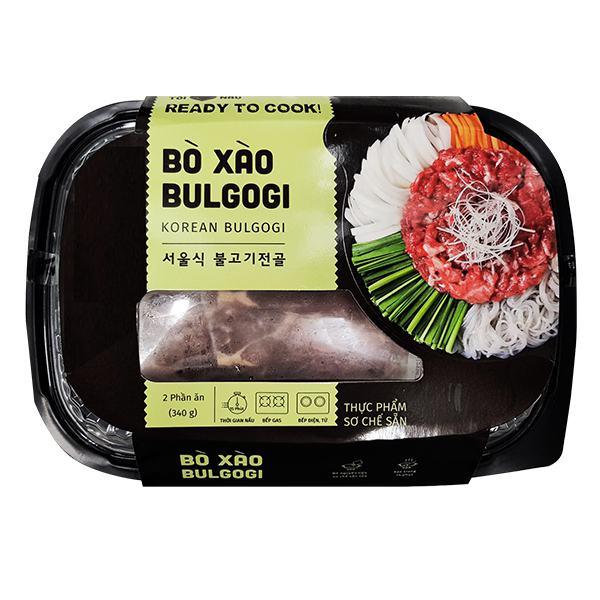 Bò Xào Bulgogi (Sơ Chế Sẵn)