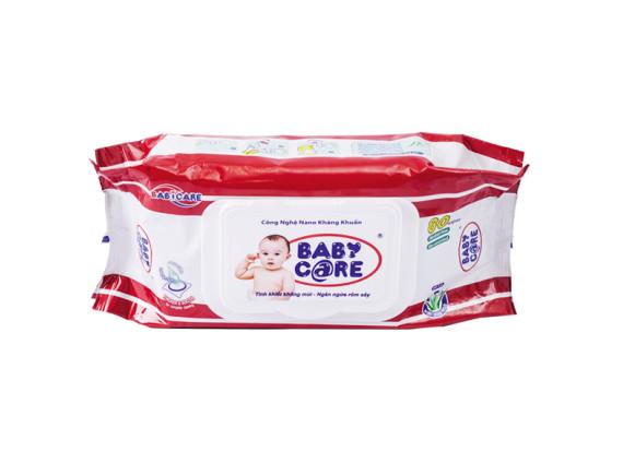 Khăn Ướt Baby Care Không Hương 80 Miếng