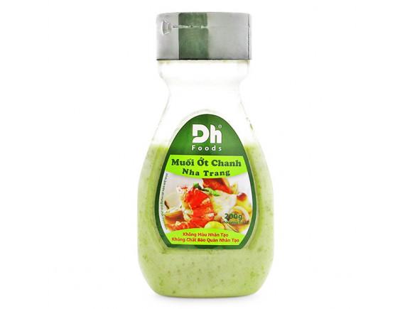 Muối Ớt Chanh Nha Trang DH-Food Hũ 200G