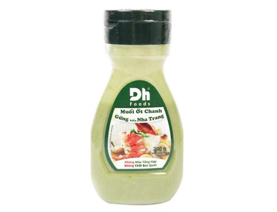 Muối Ớt Chanh Gừng DH-Food Chai 200G