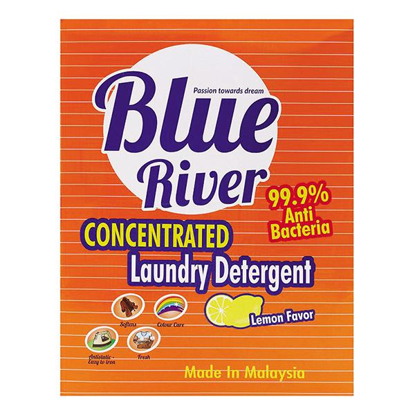 Bột Giặt Blue River Hương Chanh 5.5Kg
