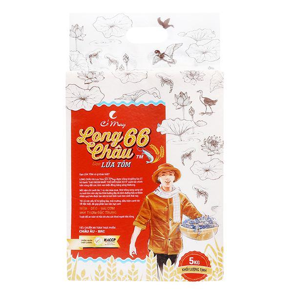 Gạo Long Châu 66 Cỏ May 5Kg