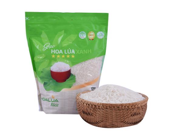 Gạo Hoa Lúa Xanh 5Kg