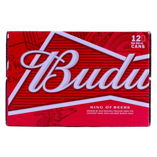 Bia Budweiser Thùng 12 Lon 500Ml