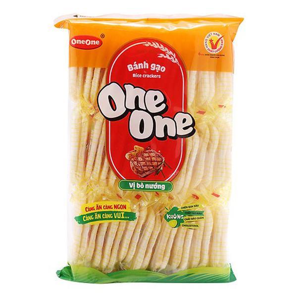 Bánh Gạo One One Hương Vị Bò 150G