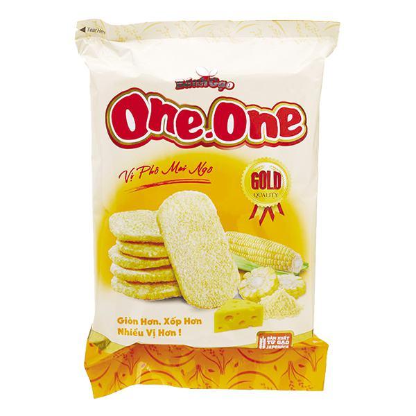 Bánh Gạo One One Gold Phô Mai Ngô 118G