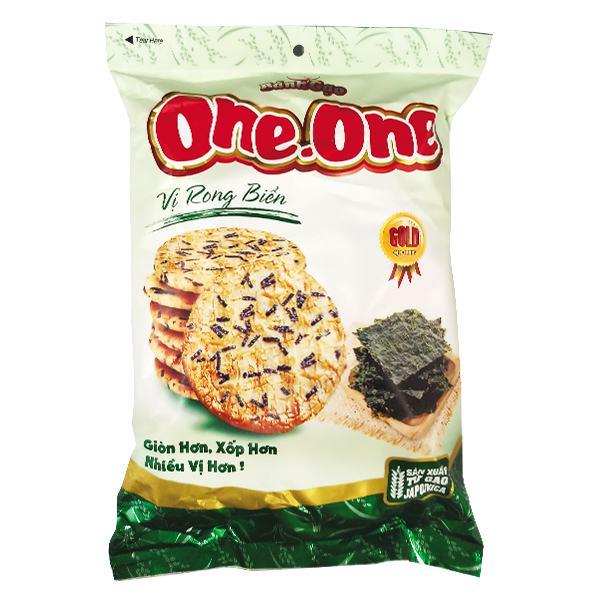 Bánh Gạo One One Vị Rong Biển 126G