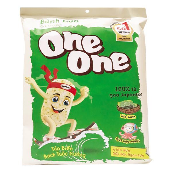 Bánh Gạo One One Vị Tảo Biển Bạch Tuộc Nướng 104G