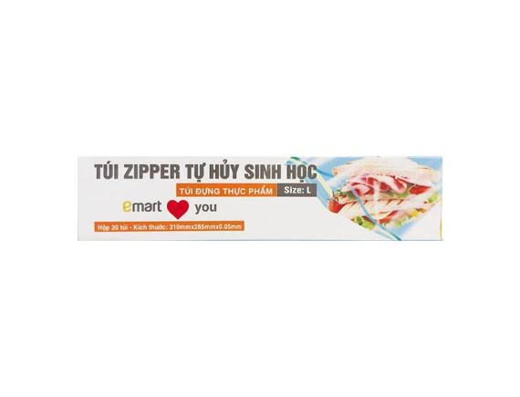 Túi Zipper Emart Size L