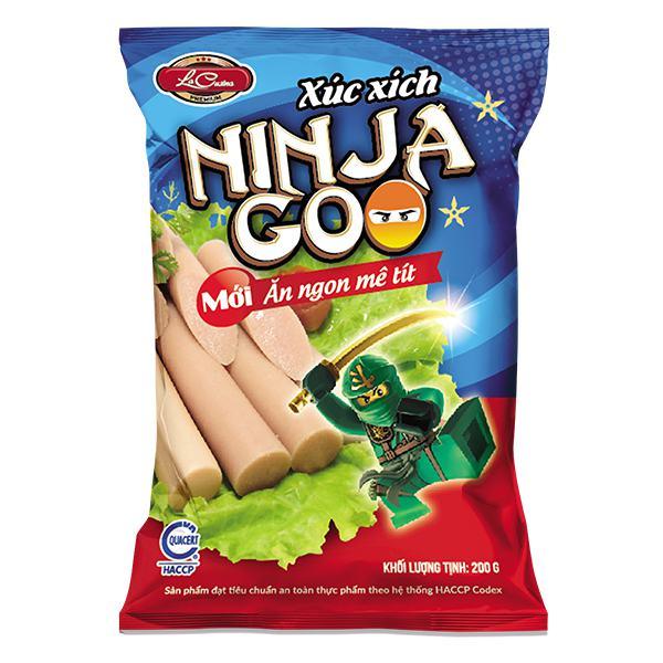 Xúc Xích Tiệt Trùng La Cusina Ninja Goo 200G