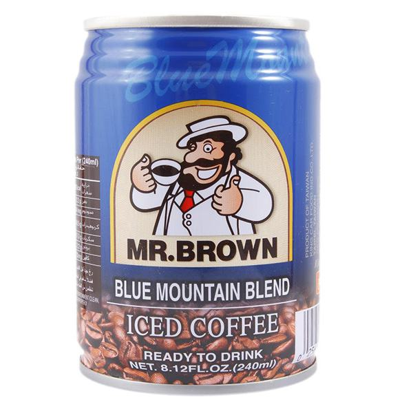 Cà Phê Mr Brown Blue 240Ml