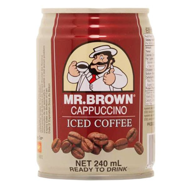 Cà Phê Mr Brown Cappuccino 240Ml