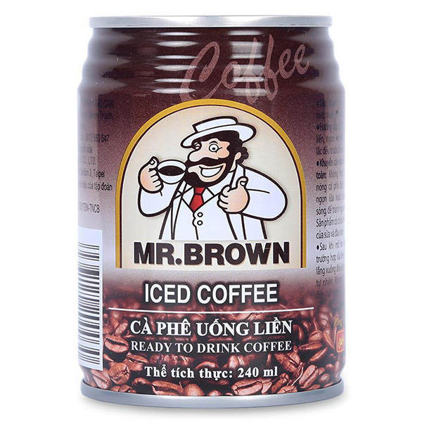 Cà Phê Mr Brown 240Ml