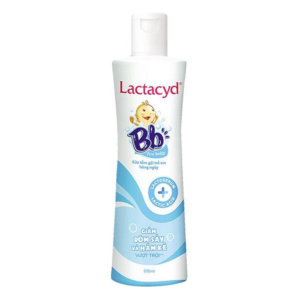 Sữa Tắm Gội Trẻ Em Lactacyd BB Chai 250Ml