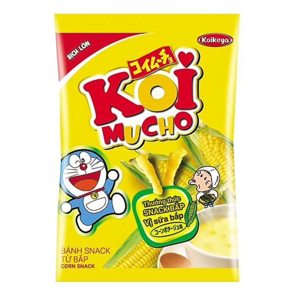 Snack Bắp Koimucho Vị Sữa Bắp 70G