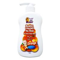 Sữa Tắm Gội Em Bé Soft Bunny Cam 500Ml