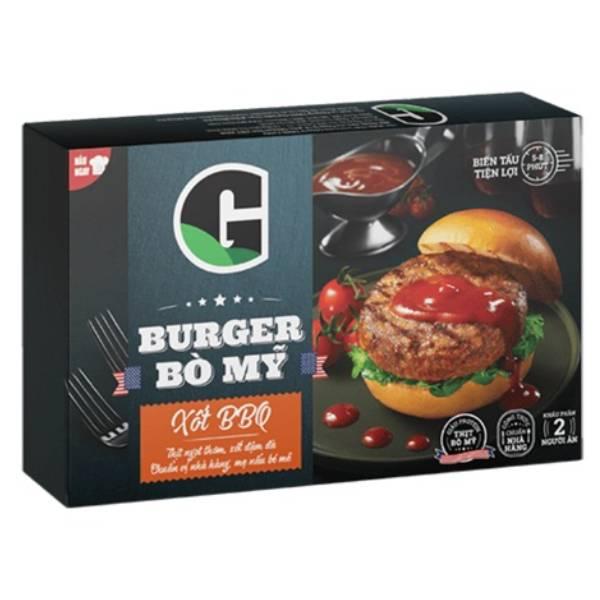 Burger Bò G Xốt BBQ 170G