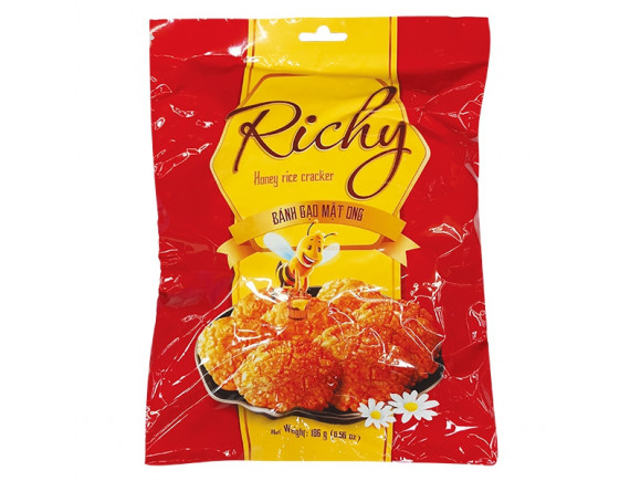Bánh Gạo Richy Mật Ong 186G