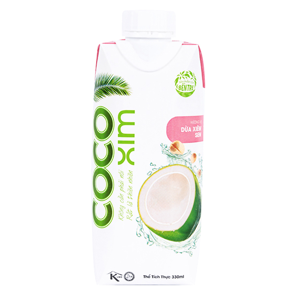 Nước Dừa Cocoxim Sen 330Ml