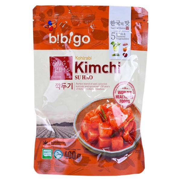 Kim Chi Su Hào Bibigo Ông Kim's Gói 400G