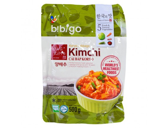 Kim Chi Cải Bắp Koryo Bibigo Ông Kim's Gói 500G