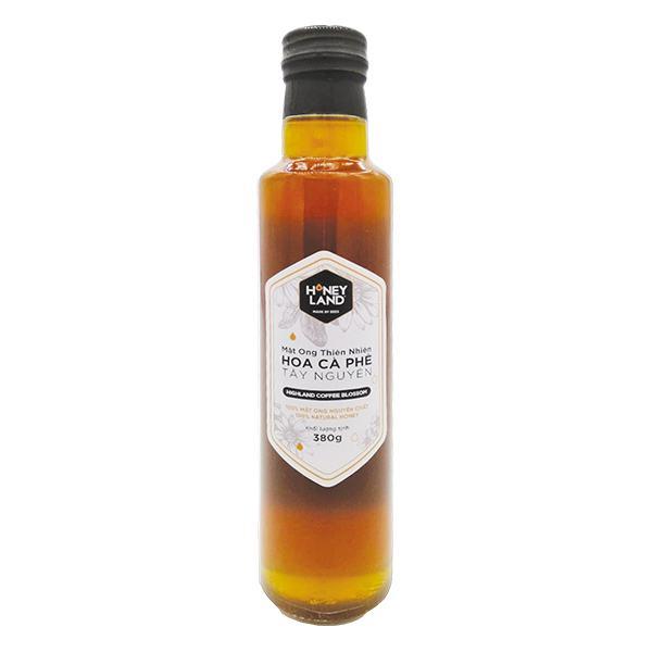 Mật Ong Honey Land Hoa Cà Phê Hũ 380G