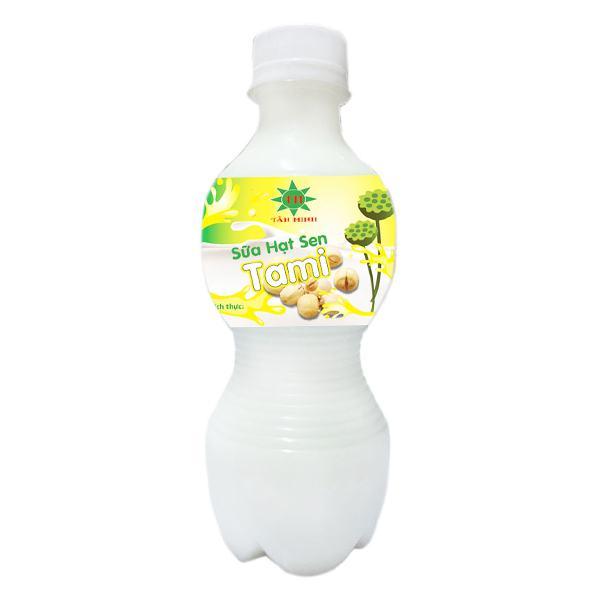 Sữa Hạt Sen Tami Chai 330Ml