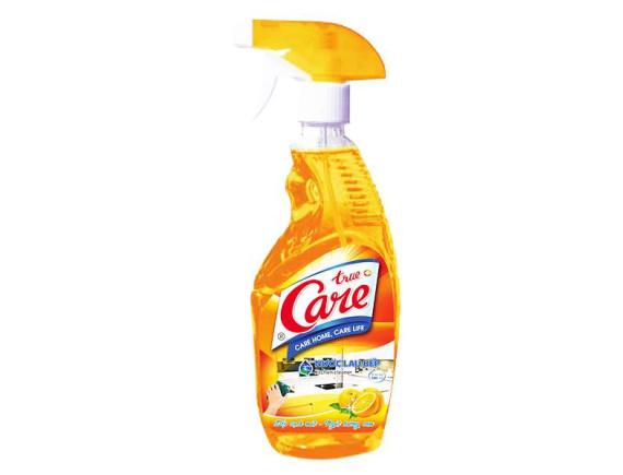 Nước Lau Bếp True Care Hương Cam 580Ml