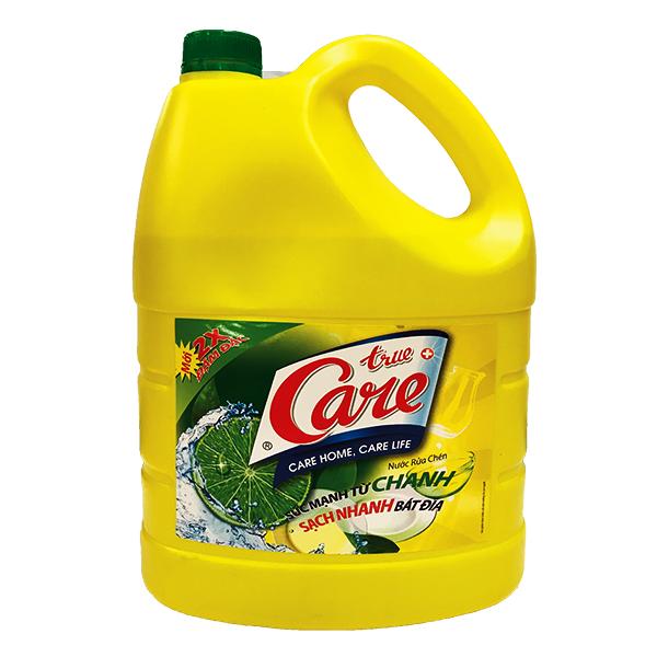 Nước Rửa Chén True Care Chanh 4Kg