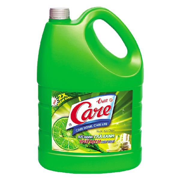 Nước Rửa Chén True Care Trà Xanh 4Kg