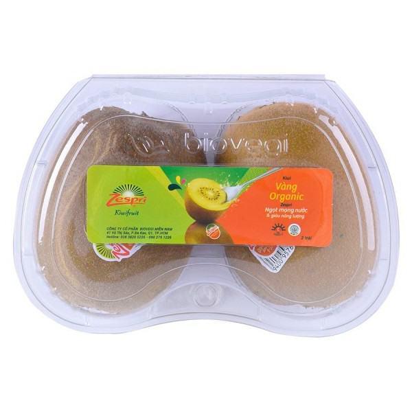 Kiwi Vàng Organic Hộp 2 Trái Xuất Xứ New Zealand