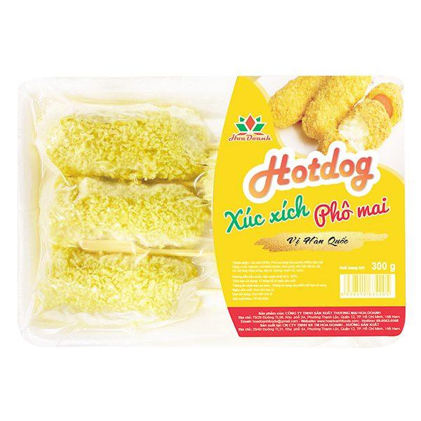 Hotdog Xúc Xích Phô Mai Hoa Doanh 300G