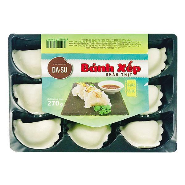 Bánh Xếp Thịt Đặc Biệt Dasu 270G