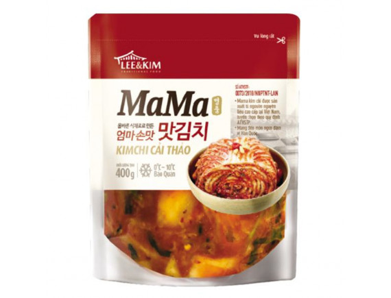 Kim Chi Cải Thảo Lee&Kim Mama 400G