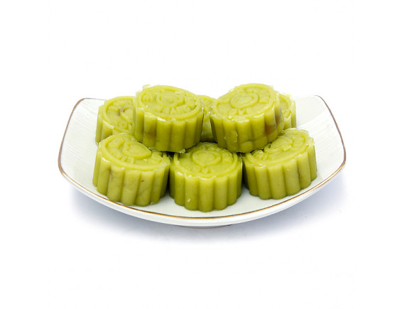 Bánh Đậu Xanh Lá Dứa Chay Linh Quyên Hộp 210G