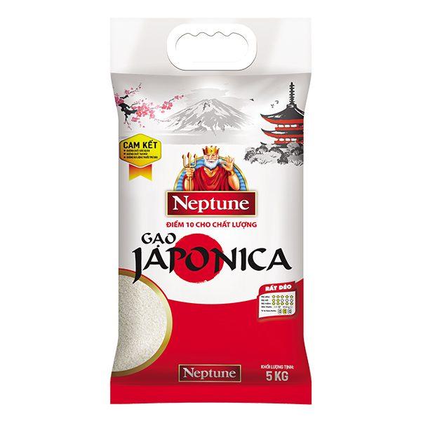 Gạo Giống Nhật Japonica Neptune 5Kg