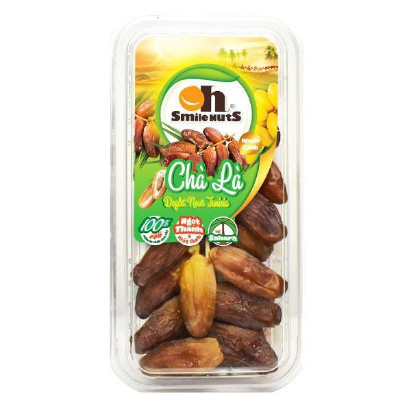 Chà Là Nguyên Cành Tunisia Oh Smile Nuts Hộp 250G