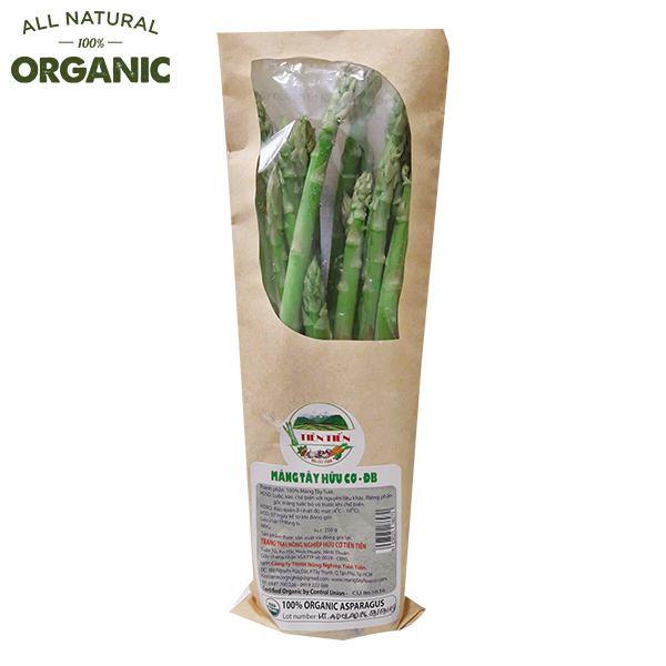 Măng Tây Phan Rang Organic Đặc Biệt Gói 250G