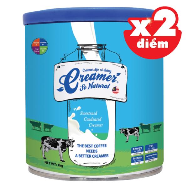 Sữa Đặc Có Đường So Natural Lon 1Kg