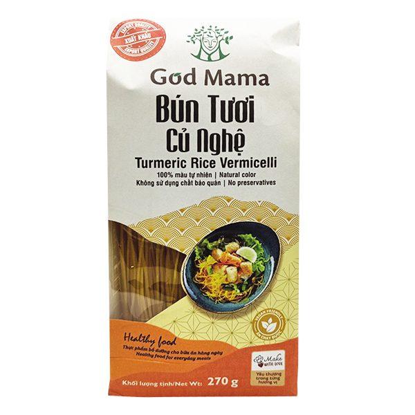 Bún Tươi God Mama Củ Nghệ 270G