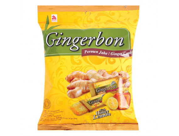Kẹo Mềm Gingerbon Chanh Mật Ong 125G
