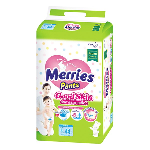 Tã Quần Merries Goodskin L44